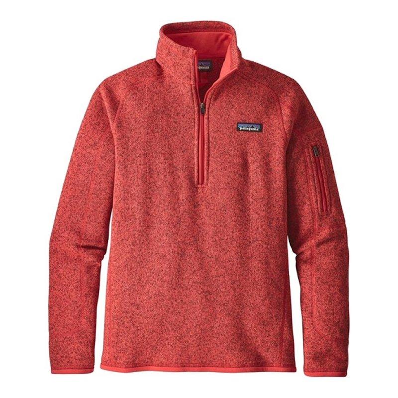 Patagonia Women's Better Sweater 1/4 Zip Pullover Fleece 25617