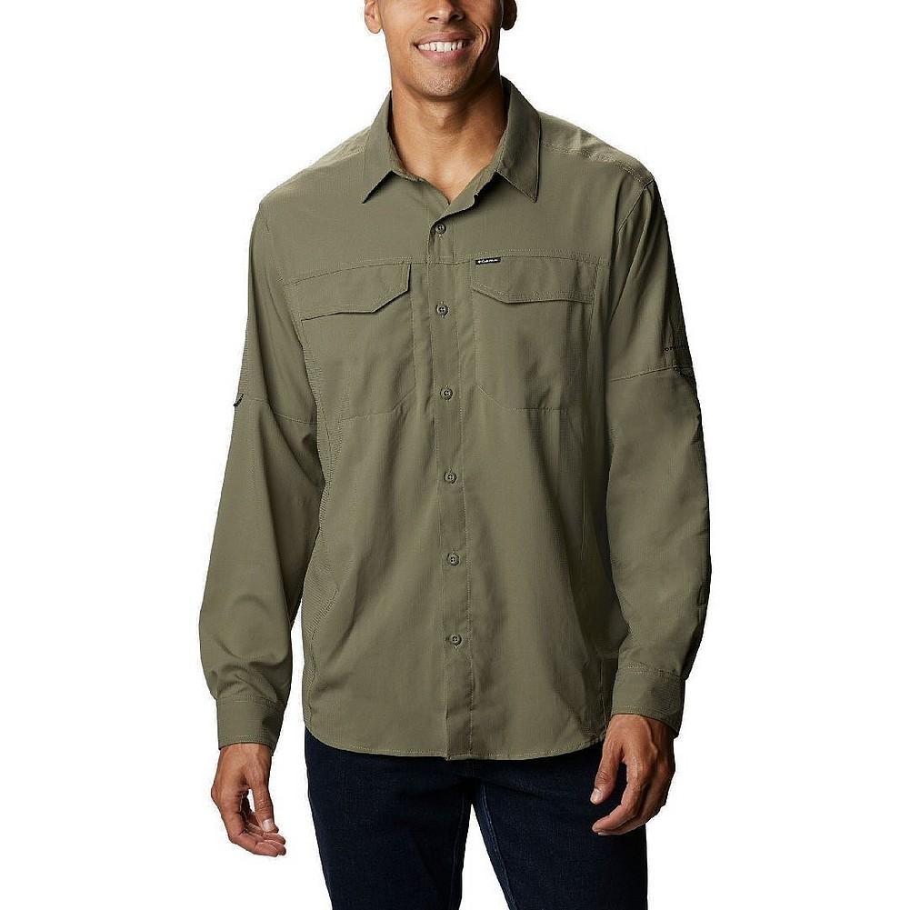 68b96b59090 Columbia Sportswear Men's Silver Ridge Lite Long Sleeve Shirt 1654321