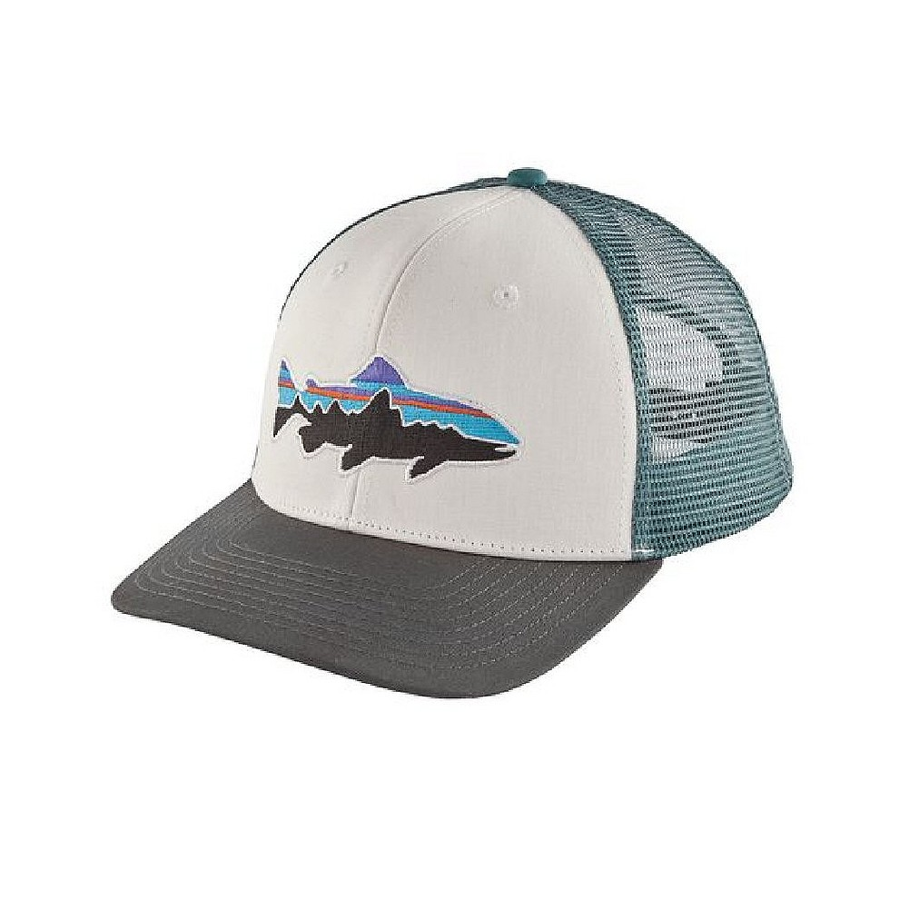 Patagonia Fitz Roy Trout Trucker Hat 38008 32b2bc3bd5a6