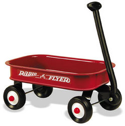 Radio Flyer Little Red Wagon (12.5 inch mini wagon) # 5 (Radio Flyer)