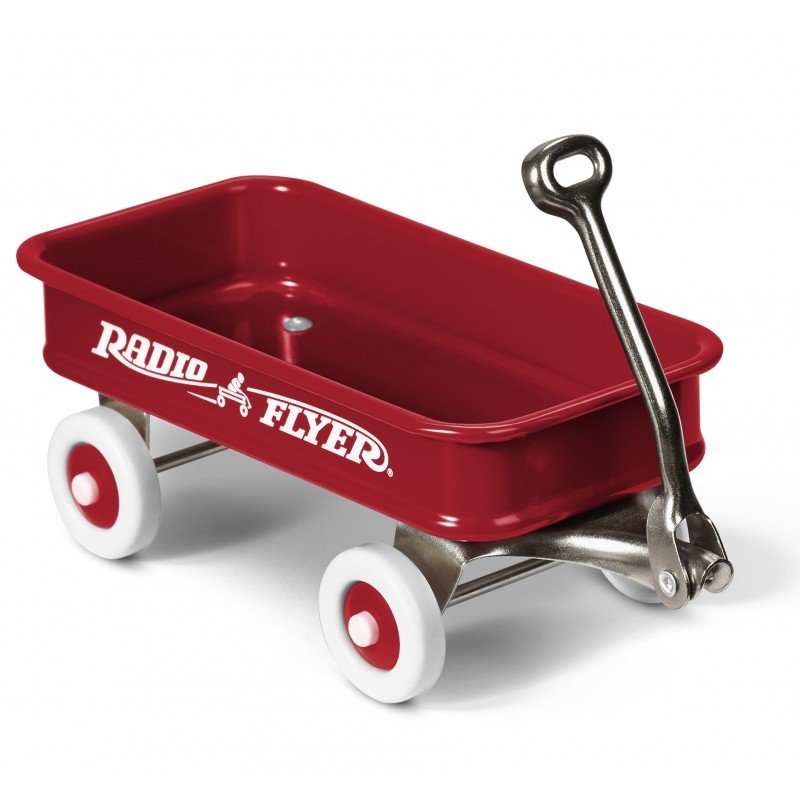 Radio Flyer 12-Pack of Miniature Classic Wagons (5 inches) #W1 (Radio Flyer)