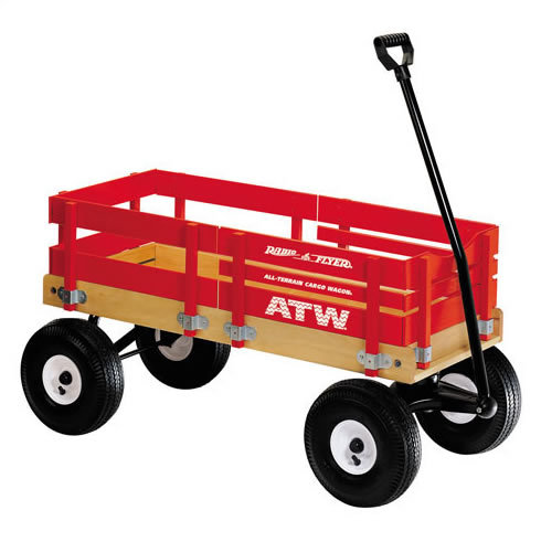 Radio Flyer All - Terrain Cargo Wagon # 29 (Radio Flyer)