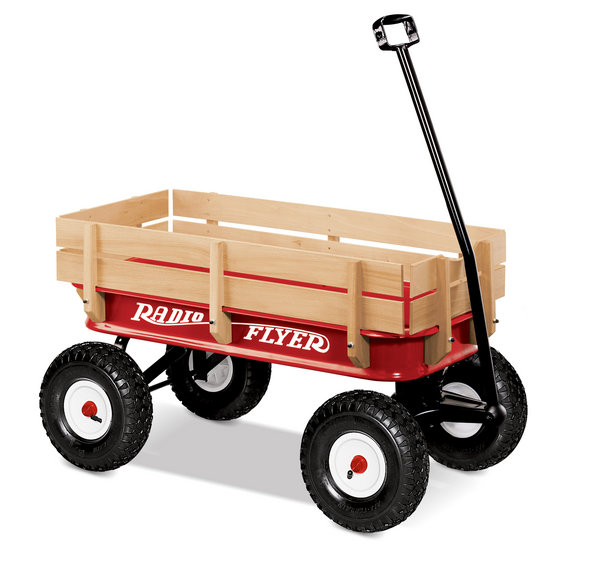 Radio Flyer ATW All-Terrain Steel & Wood Wagon # 22W (Radio Flyer)