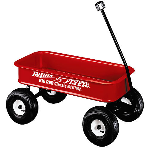 Radio Flyer Big Red Classic ATW # 1800 (Radio Flyer)