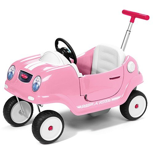 Radio Flyer Girl's Steer & Stroll Coupe # 74A (Radio Flyer)