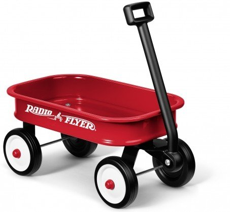 Radio Flyer Little Red Wagon 12.5 inch Mini Wagon - (Pack of 6 wagons) # W5 (Radio Flyer)