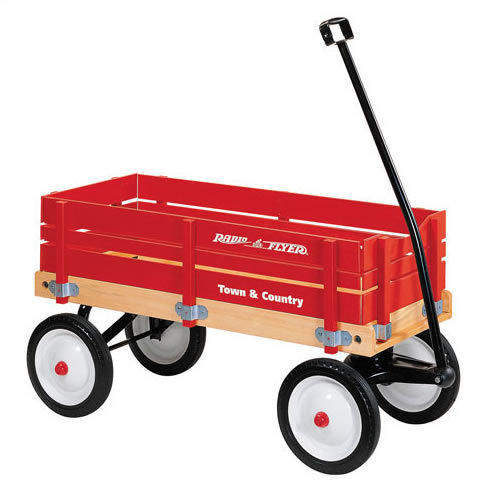 Radio Flyer Town & Country Wagon # 24 (Radio Flyer)