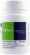 DaVinci Laboratories Coenzyme Q10 Chewmelt 100 mg 2398.060 (DaVinci Laboratories)